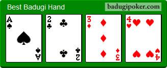 Best Badugi Hand