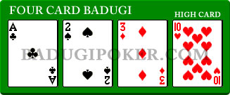 Another 4 Card Badugi Hand